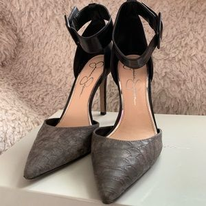 7- Jessica Simpson Canby heels with strap